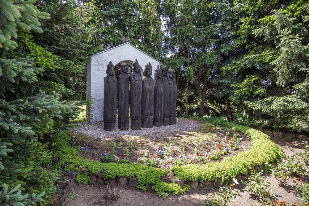 milleniumi szoborcsoport
